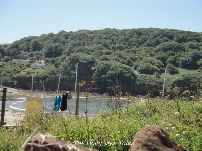A corner of Hope Cove in Devon, which reminds me of Ifafa in 1960s South Africa.