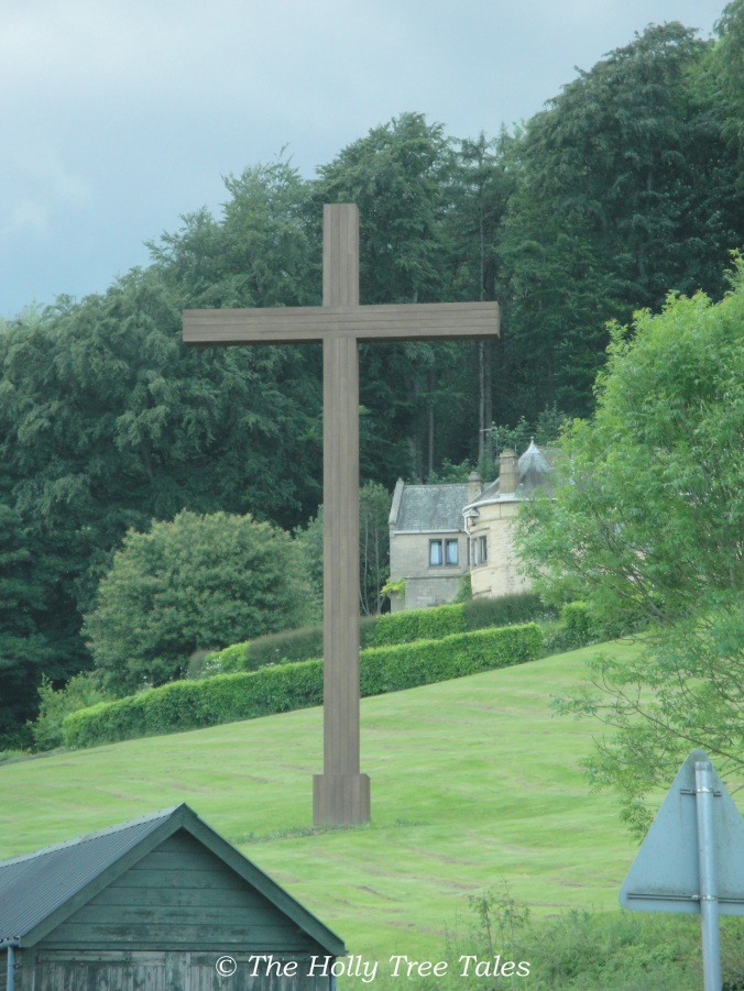 The Cross near Ampleforth Abbey, UK.