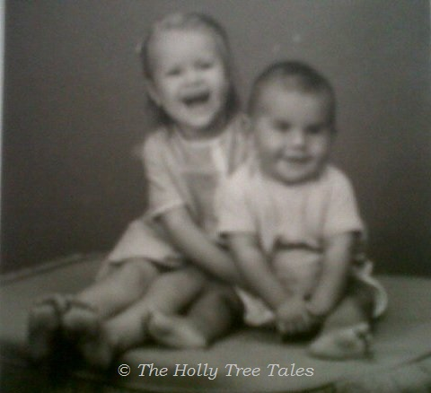 Little Holly & baby Rhett - sent to me by Rhett - cropped - THTT cropped