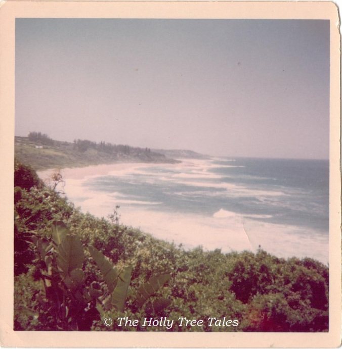 Ifafa Beach - 1960s - (c) Holly Maxwell Boydell. www.TheHollyTreeTales.com - Coast. KwaZulu Natal. South Africa. East Coast. Indian Ocean.