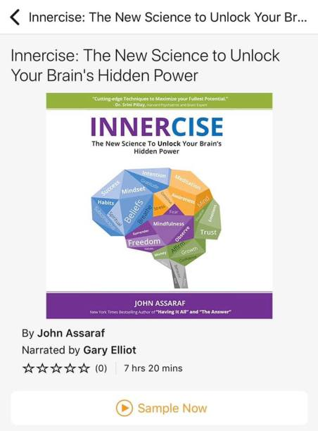 The Innercise Book by John Assaraf.