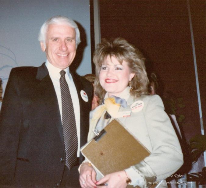Holly & Jim Rohn -  circa 1988 - © Holly M Maxwell Boydell  www.TheHollyTreeTales.com
