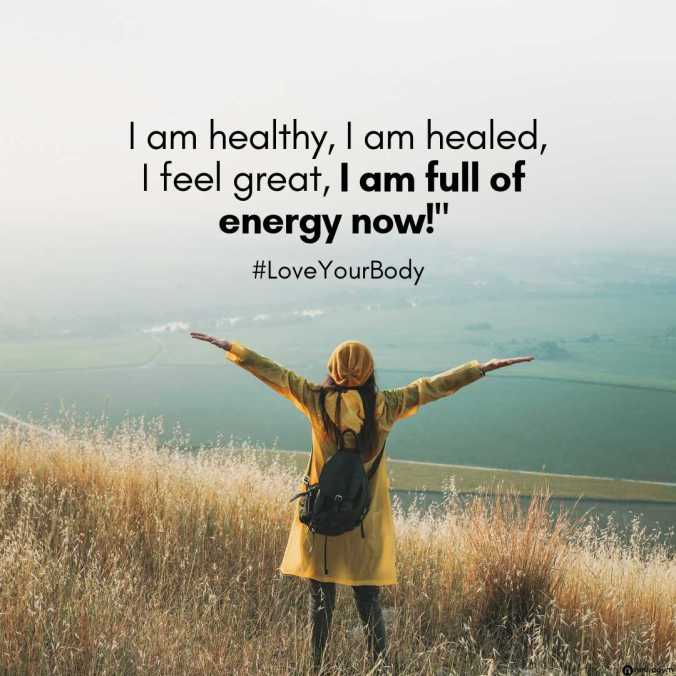 Winning The Game Of Weight Loss - WTGWL - social7 - I am healthy, I am healed, I feel great, I am full of energy now. #LoveYourBody ~ via wwwTheHollyTreeTales.com. NeuroGym Affiliate Partner. April 2019