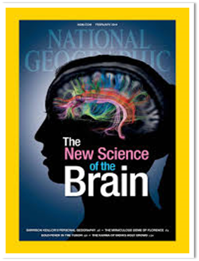 National Geographic cover - The New Science of the Brain - via internet