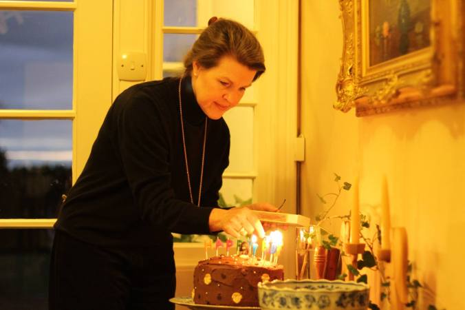 Hygge. Candles. Cake. Ambience  -  (c) Holly M Maxwell Boydell - www.TheHollyTreeTales.com