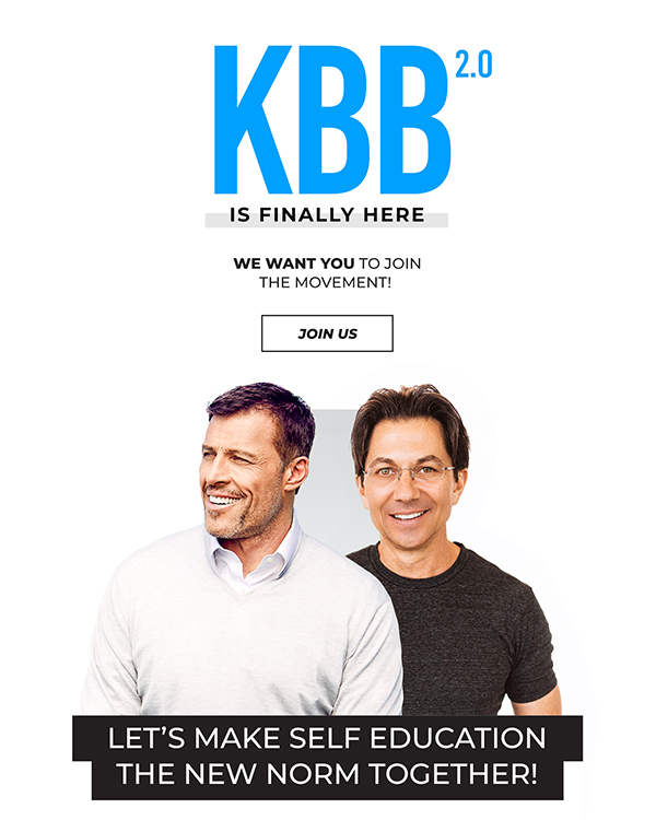 Tony Robbins and Dean Graziosi - launch of KBB 2.0 - 2020    www.TheHollyTreeTales.com