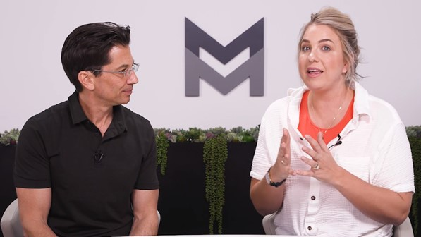 Dean Graziosi and Jenna Kutcher discuss KBB 2.0 by Mastermind - www.TheHollyTreeTales.com