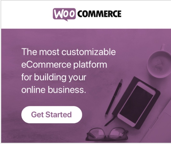 WooCommerce for websites. The most customisable platform for buolding your ecommerce business.